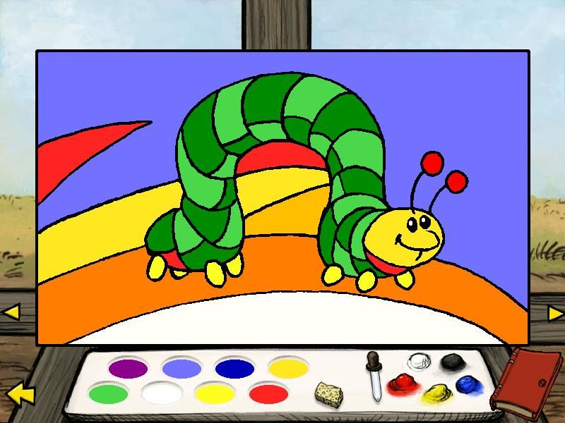 Piglet's Big Game Windows Paint Eeyore's pictures or click on the scrapbook and paint Piglet's