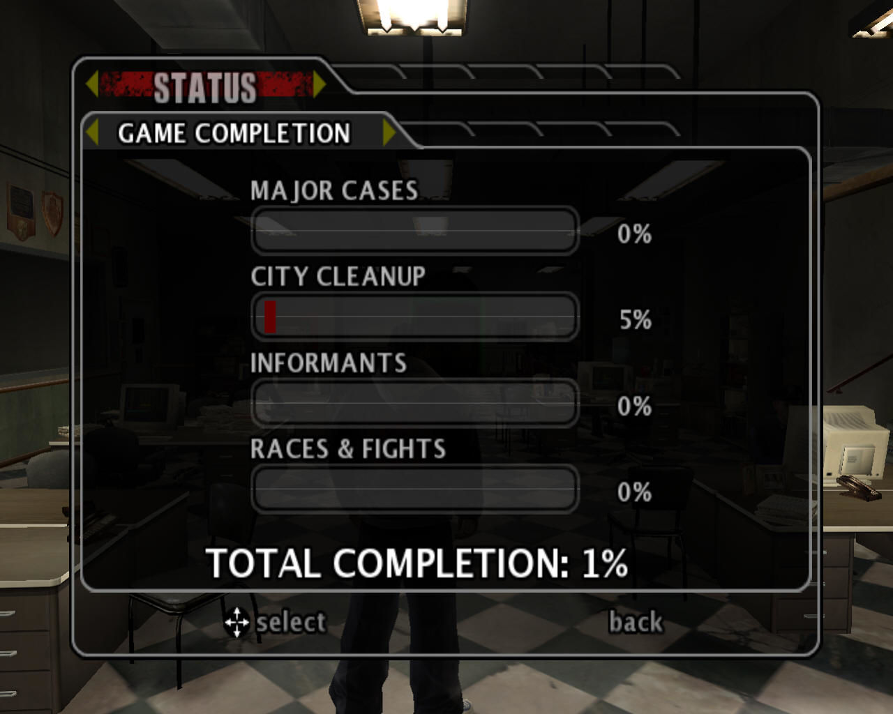 True crime new york city windows status of game completion