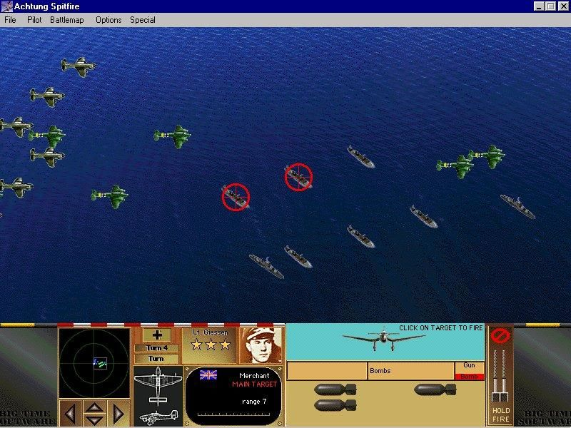 Achtung Spitfire Windows Scenarios include air raids on Channel shipping