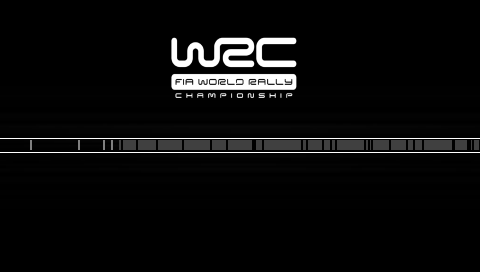 WRC PSP Loading screen