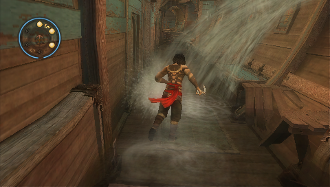 Prince of Persia: Revelations PSP The water is entering fast!