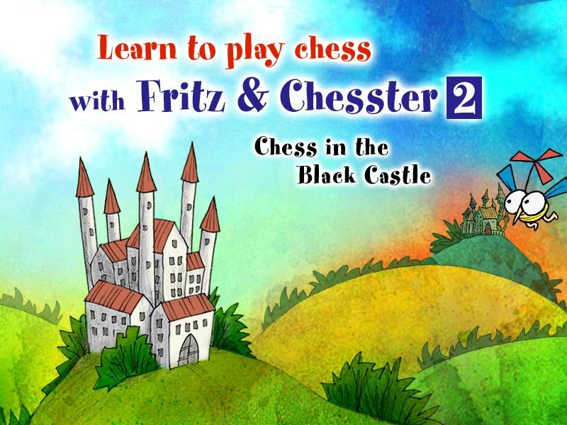 Learn to Play Chess with Fritz & Chesster 2: Chess in the Black Castle Windows Title screen...