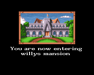 Jet Set Willy II: The Final Frontier Amiga Loading screen
