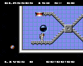 Jet Set Willy II: The Final Frontier Amiga Spacesuit