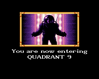 Jet Set Willy II: The Final Frontier Amiga Quadrant 9 loading screen