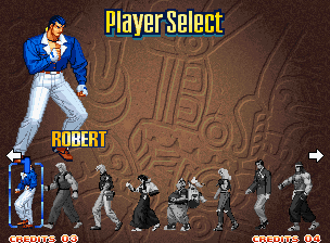 Art of Fighting 3: The Path of The Warrior Neo Geo You can choose between eight fighters plus the bosses (who are located off-screen).