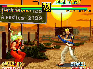 Art of Fighting 3: The Path of The Warrior Neo Geo You can charge your Spirit bar by holding down an attack button or blocking attacks. It'll also refill on its own, but very slowly.