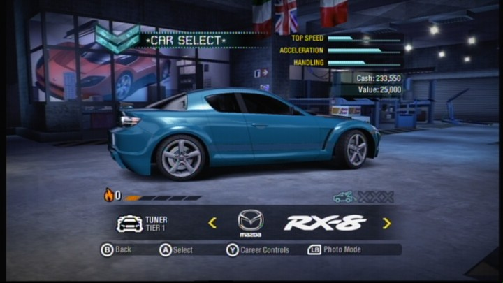 all need for speed games for xbox 360