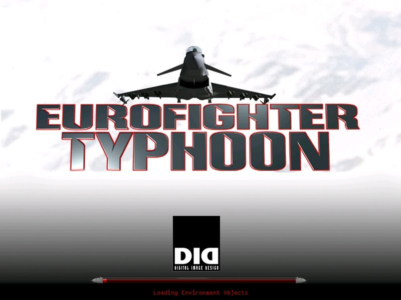 Eurofighter Typhoon Windows Title screen