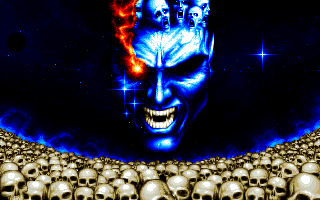 Myth: History in the Making Amiga Death screen