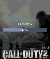 Call of Duty 2 J2ME Loading screen