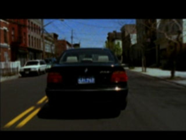 Grand Theft Auto 2 PlayStation Scene from the intro movie