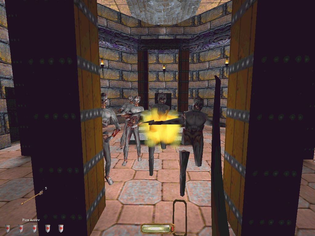 Thief: The Dark Project Windows Undead cannot be killed, unless you use holy water or shoot them with fire arrows.