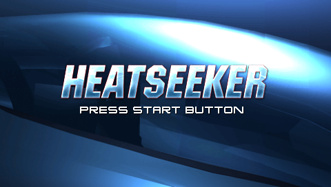 Heatseeker PSP Title screen