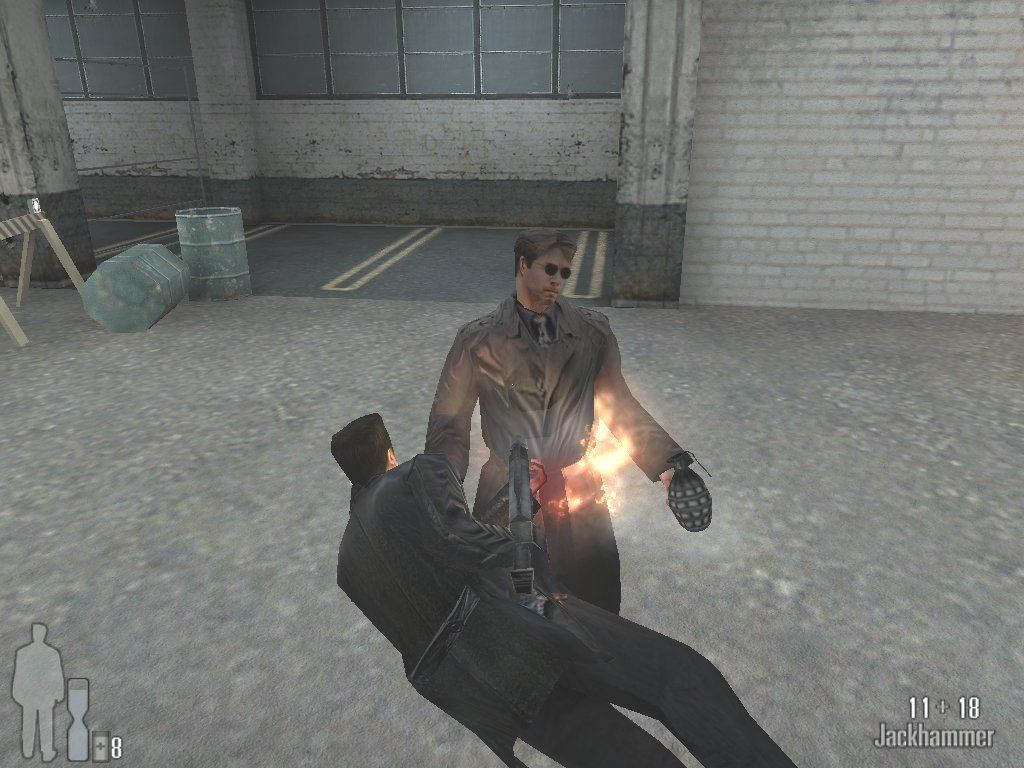 Max Payne Windows I don't care who you are, a shotgun blast to the stomach has GOT to smart