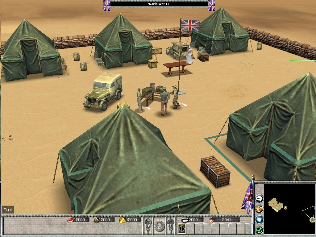 Empires: Dawn of the Modern World Windows British Base, North Africa