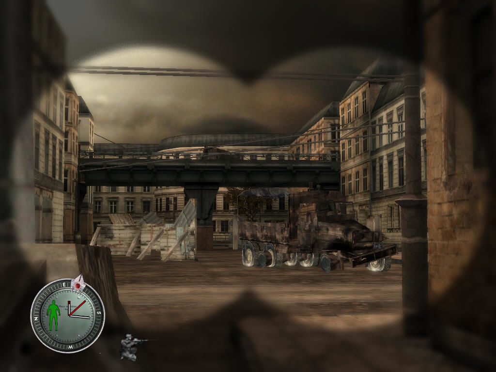 Sniper Elite Windows Metro bridge