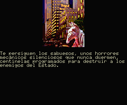 Fahrenheit 451 MSX Mechanical horrors