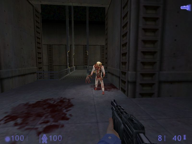 Half-Life: Blue Shift Windows Mutated scientist... a poor soul that neither got away, nor committed suicide in time.