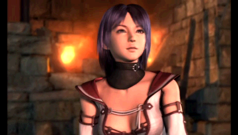 "Final Fantasy II PSP Maria in ""new"" CG intro"