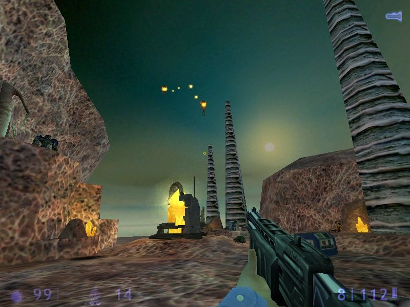 Half-Life: Blue Shift Windows Attacked from the sky... one .45 caliber should clip its wings.