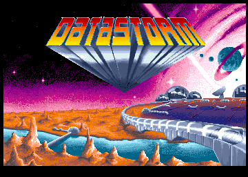 Datastorm Amiga Title screen
