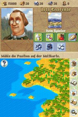 Anno 1701: Dawn of Discovery Nintendo DS Desert Island