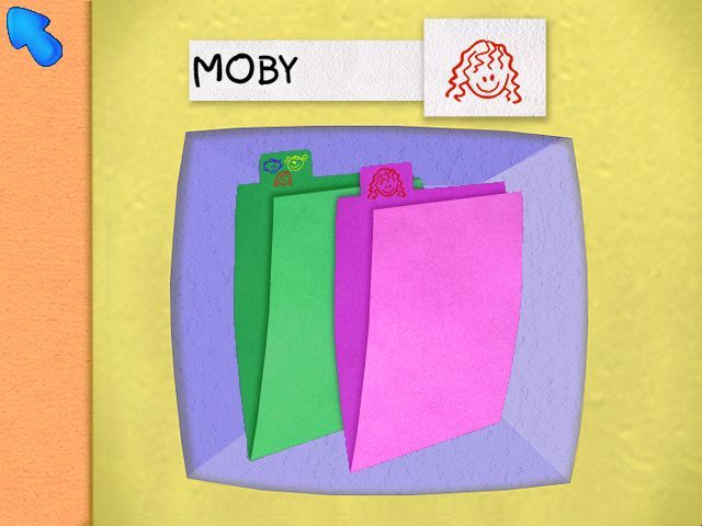 Blue's Clues: Blue Takes You to School Windows Folders in your very own cubby