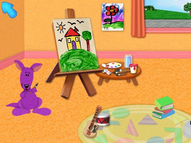 Blue's Clues: Blue Takes You to School Screenshots for ...