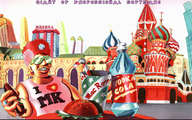 The Big Red Adventure DOS Intro - Capitalist Russia