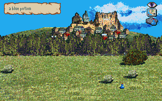 J.R.R. Tolkien's War in Middle Earth Amiga Blue potion