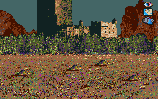 J.R.R. Tolkien's War in Middle Earth Amiga Evil citadel