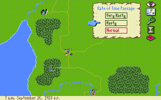 J.R.R. Tolkien's War in Middle Earth Amiga Game speed