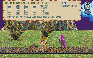 J.R.R. Tolkien's War in Middle Earth Amiga Battle