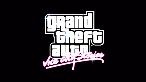 Grand Theft Auto: Vice City Stories PSP Title screen
