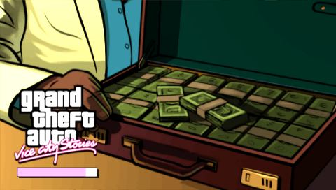 Grand Theft Auto: Vice City Stories PSP Loading screen