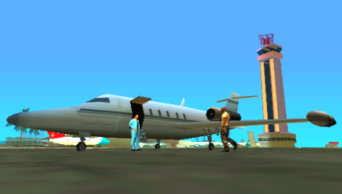 Grand Theft Auto: Vice City Stories PSP Meeting at the airport