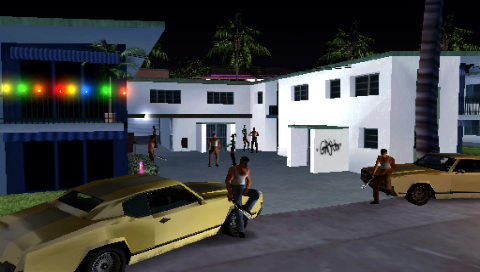Grand Theft Auto: Vice City Stories PSP Staking out new turf