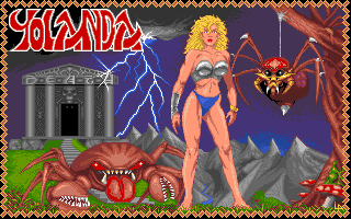 Hercules Amiga Title screen