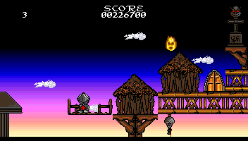 The Quest of Agravain Amiga Elevator and exit