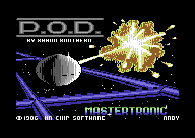 P.O.D.: Proof of Destruction Commodore 64 Loading screen