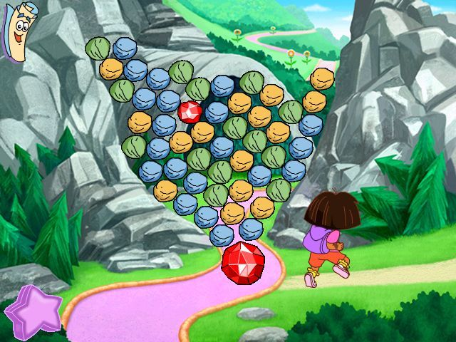 Dora the Explorer: Fairytale Adventure Windows Have to find a way to unblock the  Dragon Cave