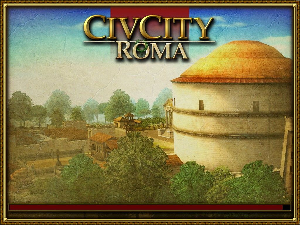 CivCity: Rome Windows Loading screen