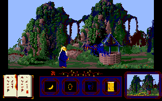 The Golden Path Amiga Monster in the well