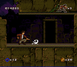 Pitfall: The Mayan Adventure SNES When you see these scorpions...