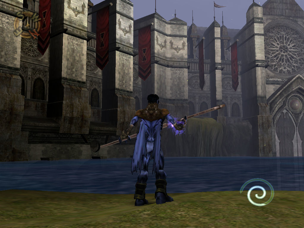 Legacy of Kain: Soul Reaver 2 Windows In fornt of the castle