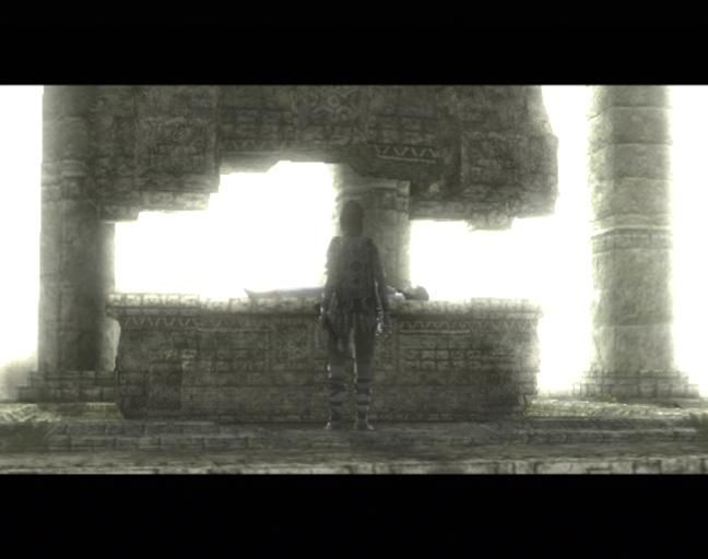 Shadow of the Colossus PlayStation 2 She's been sacrificed
