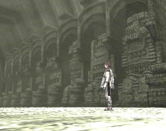 Shadow of the Colossus PlayStation 2 Defeating a colossus would destroy an idol in the shrine
