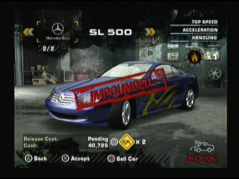 Need For Speed Most Wanted Screenshots For Playstation 2 Mobygames