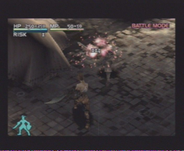 Vagrant Story PlayStation Even after you strike, you can use certain ingame option for some extra doings.